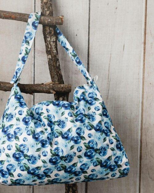 "Little Birds Wetbag 42 x 30 cm ""Blueberries"""