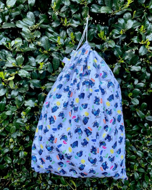 """Little Birds Wetbag 50 x 60cm """"Yes! What? No!"""""""