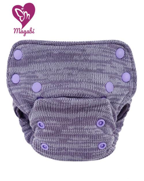 Magabi – SideSnapSIO-Wollüberhose OS: lavendel (begrenzte Auflage)